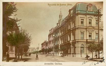 "CPA ARGENTINE ""Buenos Aires, avenue Callao"""
