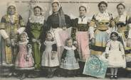 "29 Finistere CPA FRANCE 29 ""Chateaulin, concours de costumes"""