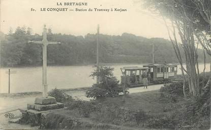 Cpa france 29 le conquet station du tramway kerjean tramway 29 finistere autres - Hotel relais du vieux port le conquet ...