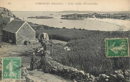 """CPA FRANCE 29 """"Carantec, L'Ile  Callot"""""""