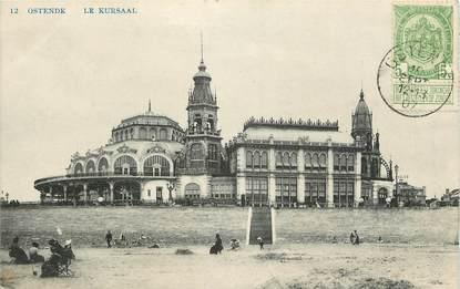 """CPA BELGIQUE """"Ostende, le Kursaal"""""""