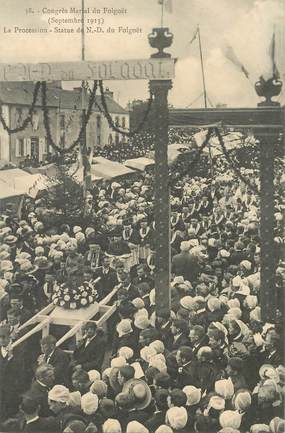 "CPA FRANCE 29 ""Le Folgoet, congrès Marial, Procession, 1913"""