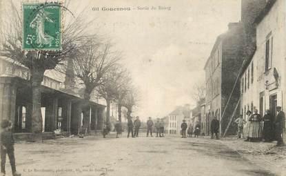 "CPA FRANCE 29 ""Gouesnon, sortie du Bourg"""