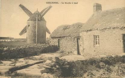 """CPA FRANCE 29 """"Guilvinec, le moulin à vent"""""""