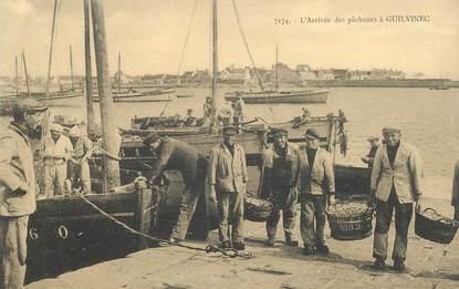 """CPA FRANCE 29 """"Guilvinec, l'arrivée des pêcheurs"""""""