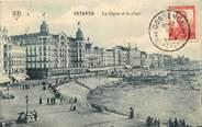 """Belgique CPA BELGIQUE """"Ostende, la digue et la plage"""""""