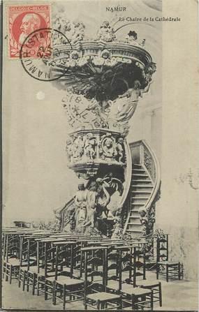 """CPA BELGIQUE """"Namur, le Chaire de la cathédrale"""""""