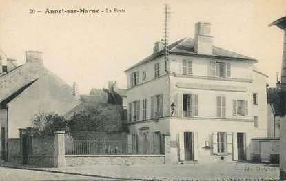 """CPA FRANCE 77 """"Annet sur Marne, la poste"""""""
