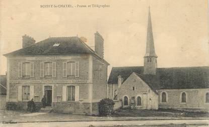 "CPA FRANCE 77 ""Boissy le Chatel, Postes"""