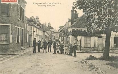 "CPA FRANCE 77 ""Bray sur Seine, Faubourg Saint Jean"""
