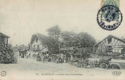 "CPA FRANCE 77 ""Barbizon, Hotel des Charmettes"""