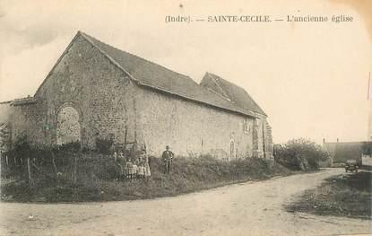 """CPA FRANCE 36 """"Sainte Cécile, l'ancienne église"""""""