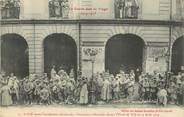"""88 Vosge CPA FRANCE 88 """"Saint Dié, avant l'occupation allemande, prisonniers allemands devant l'Hotel de ville le 15/08/1914"""""""