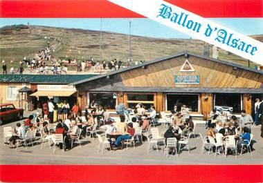 """/ CPSM FRANCE 68 """"Ballon d'Alsace, bar restaurant des démineurs"""""""