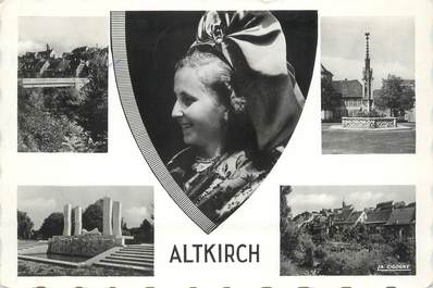 """/ CPSM FRANCE 68 """"Altkirch"""""""