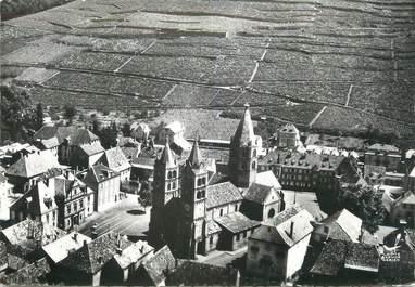 """/ CPSM FRANCE 68 """"Guebwiller, église Saint Léger et le Vignoble"""""""