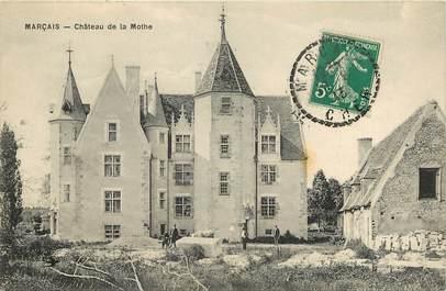 """CPA FRANCE 18 """"Marçais, Château de la Mothe"""""""