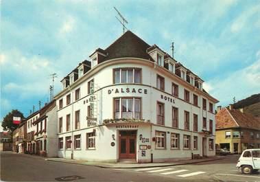 """/ CPSM FRANCE 68 """"Guebwiller, hôtel d'Alsace"""""""