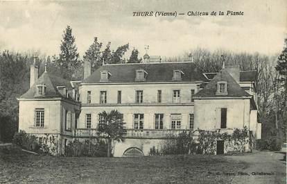 """CPA FRANCE 86 """"Thuré, Chateau de la Plante"""""""