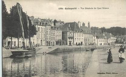"""CPA FRANCE 29 """"Quimperlé, Quai Brizeux"""""""