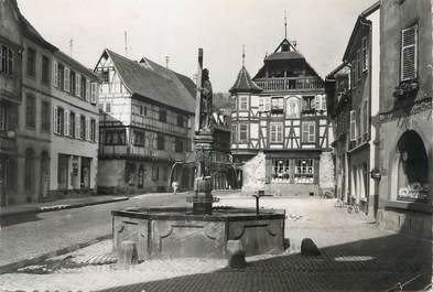 """/ CPSM FRANCE 68 """"Kaysersberg, place de l'église"""""""