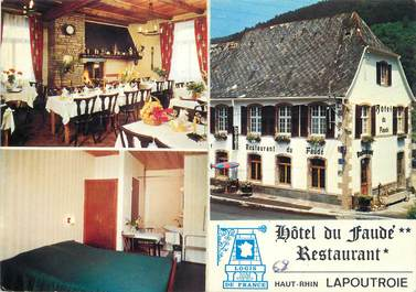 """/ CPSM FRANCE 68 """"Lapoutroie, hôtel du Faudé"""""""
