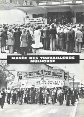 """/ CPSM FRANCE 68 """"Mulhouse, musée des travailleurs"""""""