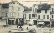 """47 Lot Et Garonne CPA FRANCE 47 """"Villeneuve sur Lot, la Place du Marché et les Cornières"""""""