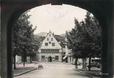 """/ CPSM FRANCE 68 """"Munster, hôtel de ville"""""""