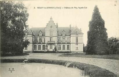 """CPA FRANCE 18 """"Neuvy le Barrois, Château de Pey"""""""