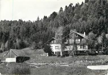"""/ CPSM FRANCE 68 """"Luttenbach, restaurant pension Voltaire"""""""