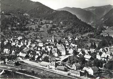 """/ CPSM FRANCE 68 """"Metzeral, vue générale avec Rotenbachkopf"""""""