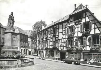 """/ CPSM FRANCE 68 """"Ribeauvillé, hôtel restaurant du mouton """""""
