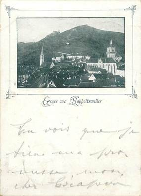 "/ CPA FRANCE 68 ""Ribeauvillé """