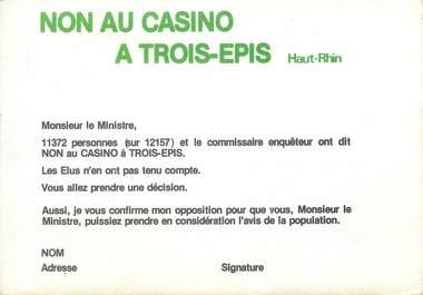 """/ CPSM FRANCE 68 """"Trois Epis"""""""