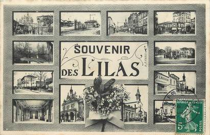 """CPA FRANCE 93 """"Souvenir des Lilas"""""""