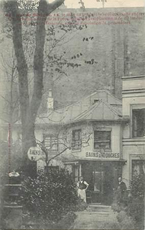 """CPA FRANCE 75004 """"Paris, Rue de Sévigné, Bains Douches"""""""