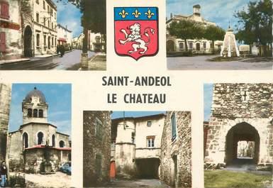 """/ CPSM FRANCE 69 """"Saint Andeol Le Château"""""""