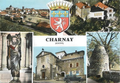 """/ CPSM FRANCE 69 """"Charnay"""