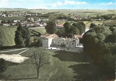 """/ CPSM FRANCE 69 """"Cailloux sur Fontaines, vue sur le château"""""""