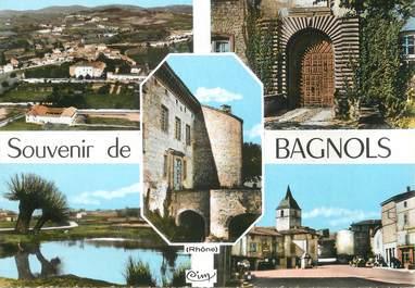 """/ CPSM FRANCE 69 """"Bagnols"""""""
