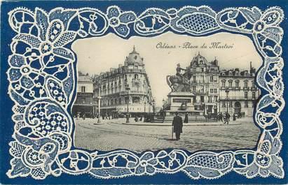 """CPA FRANCE 45 """"Orléans, place du Martroi"""""""