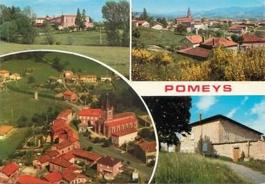 """/ CPSM FRANCE 69 """"Pomeys"""""""
