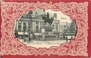 """45 Loiret CPA FRANCE 45 """"Orléans, place du Martroi et l'Hotel des Postes"""""""