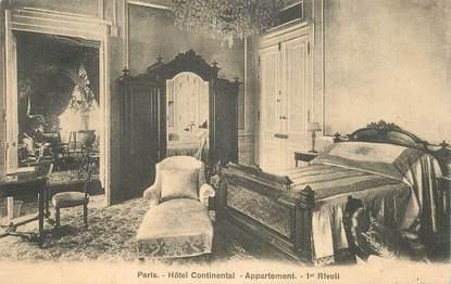 "CPA FRANCE 75001 ""Paris,  Hotel Continental"""