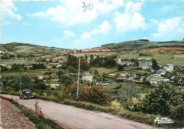 """/ CPSM FRANCE 71 """"Anost, vue panoramique"""""""