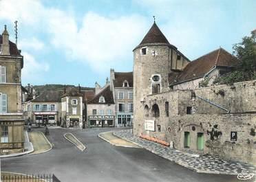 """/ CPSM FRANCE 71 """"Buxy, place de la tour rouge """""""