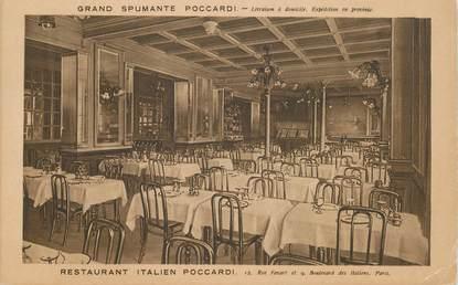"CPA FRANCE 75002 ""Paris, Restaurant italien"""