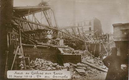 """CPA FRANCE 75003 """"Paris, Faubourg du Temple, 1918"""""""