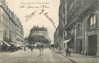 Cpa france 75005 paris la place de la vieille estrapade for Jardin d asie 78 rue baudricourt 75013 paris